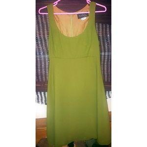 Nicole Miller NYC Green skater Dress